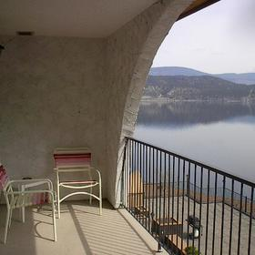 Lake Okanagan Resort - View From Balcony