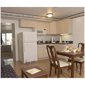 Captain's Quarters at Surfside - Unit Kitchen