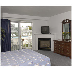 Captain's Quarters at Surfside - Unit Bedroom