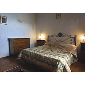 Unit bedroom at Il Poggio