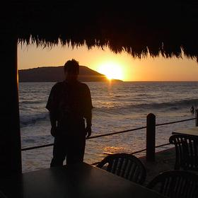 Costa de Oro Beach Club - Sunset From Pool Bar