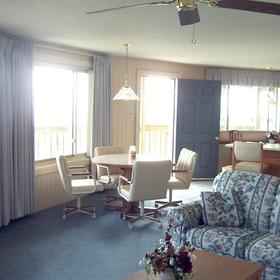 Outer Banks Beach Club - Living Area