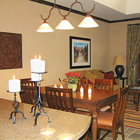 Hyatt Wild Oak Ranch - Unit Dining Area