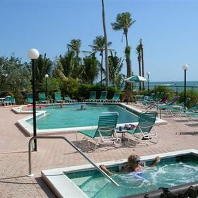Vanderbilt Beach and Harbour Club - Pool and Jacuzzi