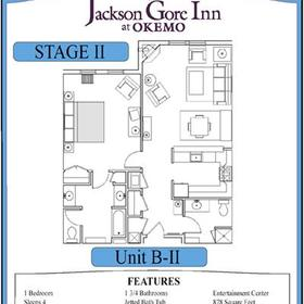 Jackson Gore Inn - Unit Floor Plan