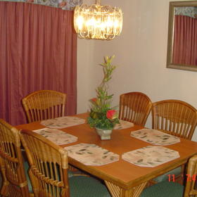 Villas at Fortune Place - Unit Dining Area
