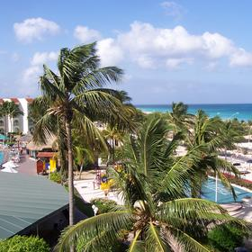 La Cabana Beach & Racquet Club - View From Balcony