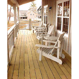 Tory's Landing - Front porch