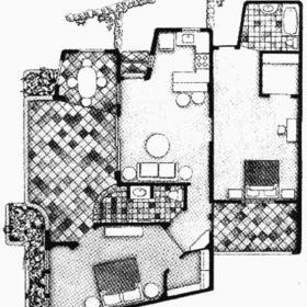 Windjammer Landing Villa Beach Resort - Unit Floor Plan