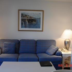 Edgewater Beach Resort - Unit Living Area