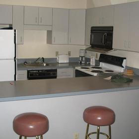 Massanutten's Shenandoah Villas - Unit Kitchen
