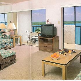 Beach Club of Marco - Unit Living Area