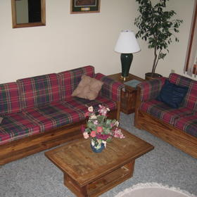 Depuy Village at Shawnee Resort - living room