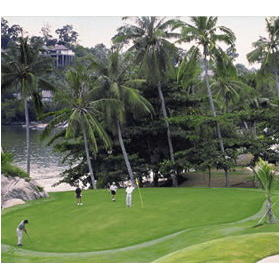 Angsana Resort & Spa: golf course
