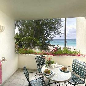 Bougainvillea Beach Resort - Porch of a Unit