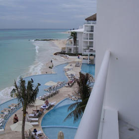 Playacar Palace - View From Balcony