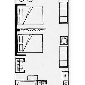 Boardwalk One - Unit Floor Plan