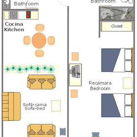 Pacifica Master/Senior Sands - Unit Floor Plan