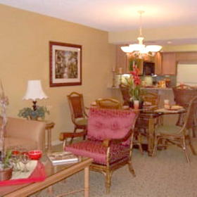 Legacy Vacation Club Orlando - Living/Dining Rooms