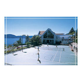 Lake Okanagan Resort - Tennis Court