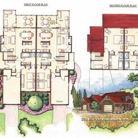 2 bedroom floorplan at Little Sweden