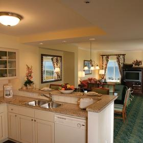 Marriott's SurfWatch - Unit Kitchen