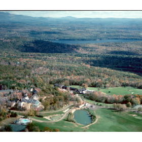 Steele Hill Resorts - Aerial View