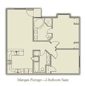 Henley Manor - Two-Bedroom Floor Plan