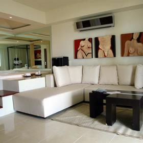 Desire Resort and Spa - Unit Living Area