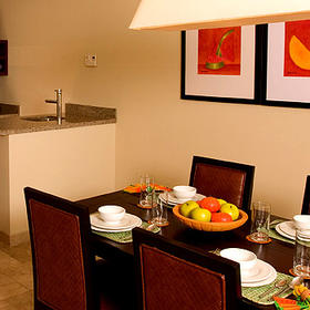 Cabo Villas Beach Resort - Unit Dining Area