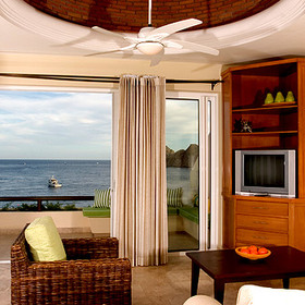 Cabo Villas Beach Resort - Unit Living Area