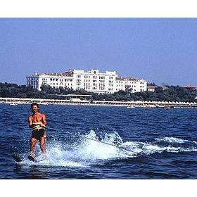 Water Skiing off the Shores at the Hotel Des Bains