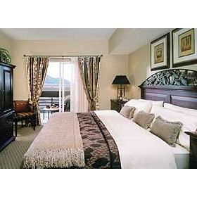 David Walley's Hot Springs Resort and Spa - Unit Bedroom