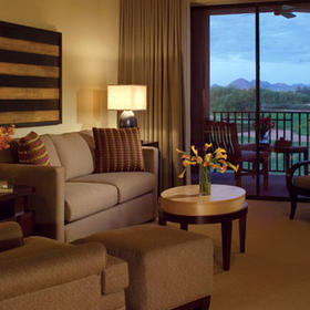 The Westin Kierland Villas Living Area