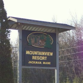 Mountainview Resort - Sign