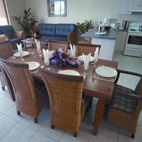 Dining Area at Denarau Island Resort