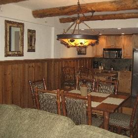 The Whiteface Lodge - Unit Dining Area