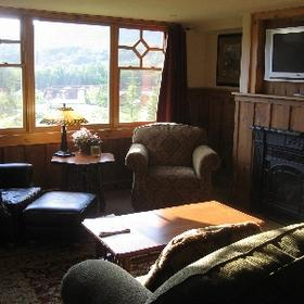 The Whiteface Lodge - Unit Living Area