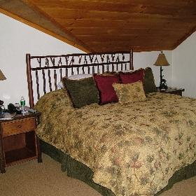 The Whiteface Lodge - Unit Bedroom