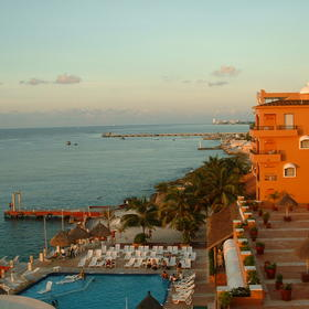 Cozumel Palace - View From Resort