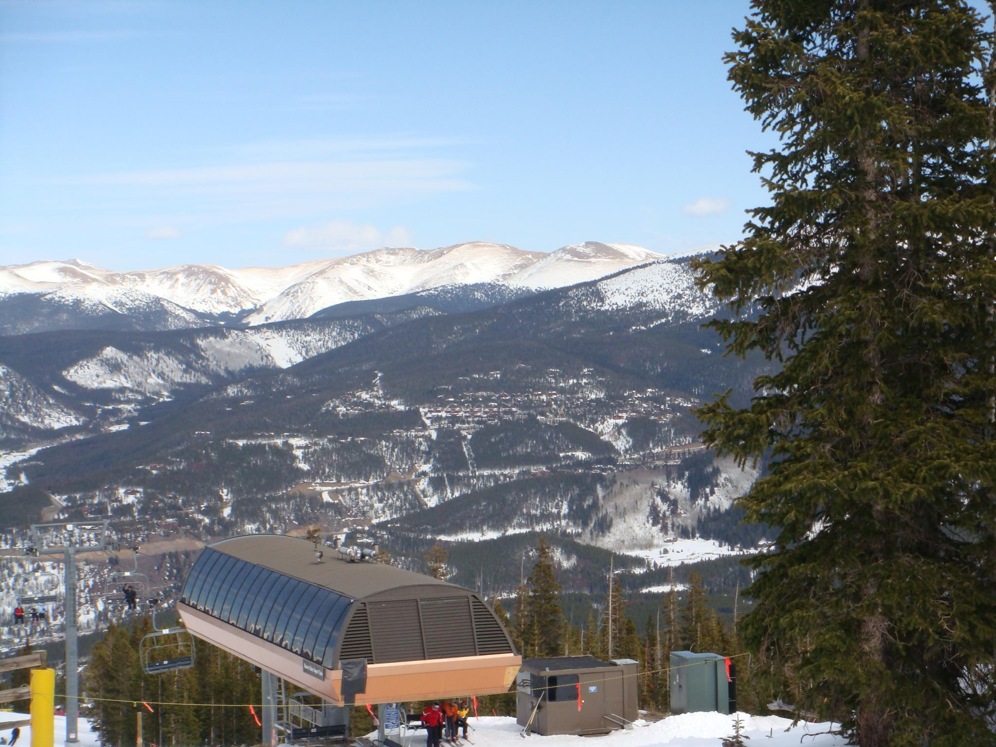 View from Peak 9