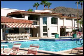 Scottsdale Camelback Resort - Pool, grill, Camelback Mountain