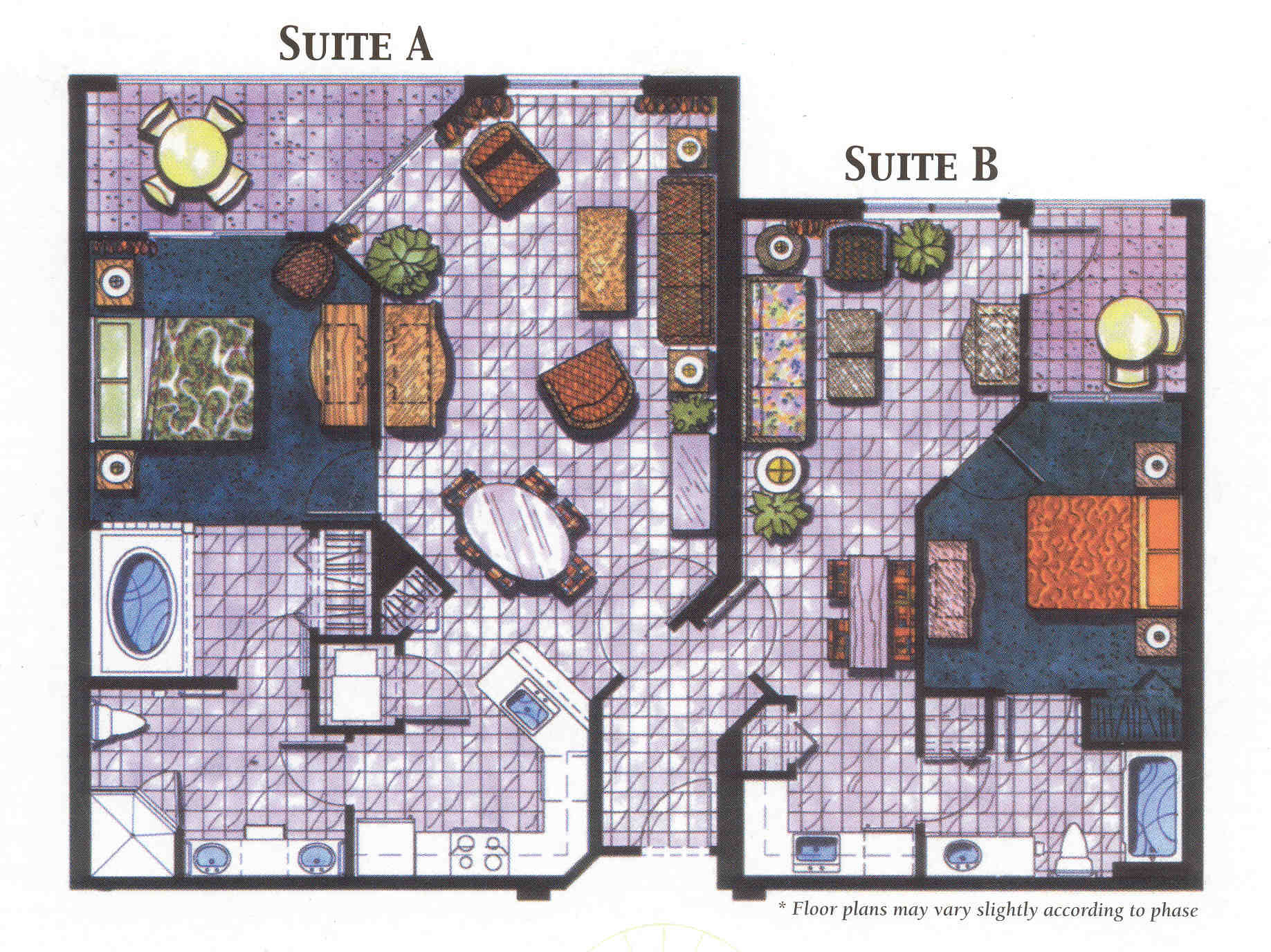 Vacation village at parkway kissimmee florida timeshare for Vacation floor plans