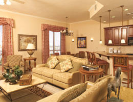 Wyndham Grand Desert - Unit Living Area