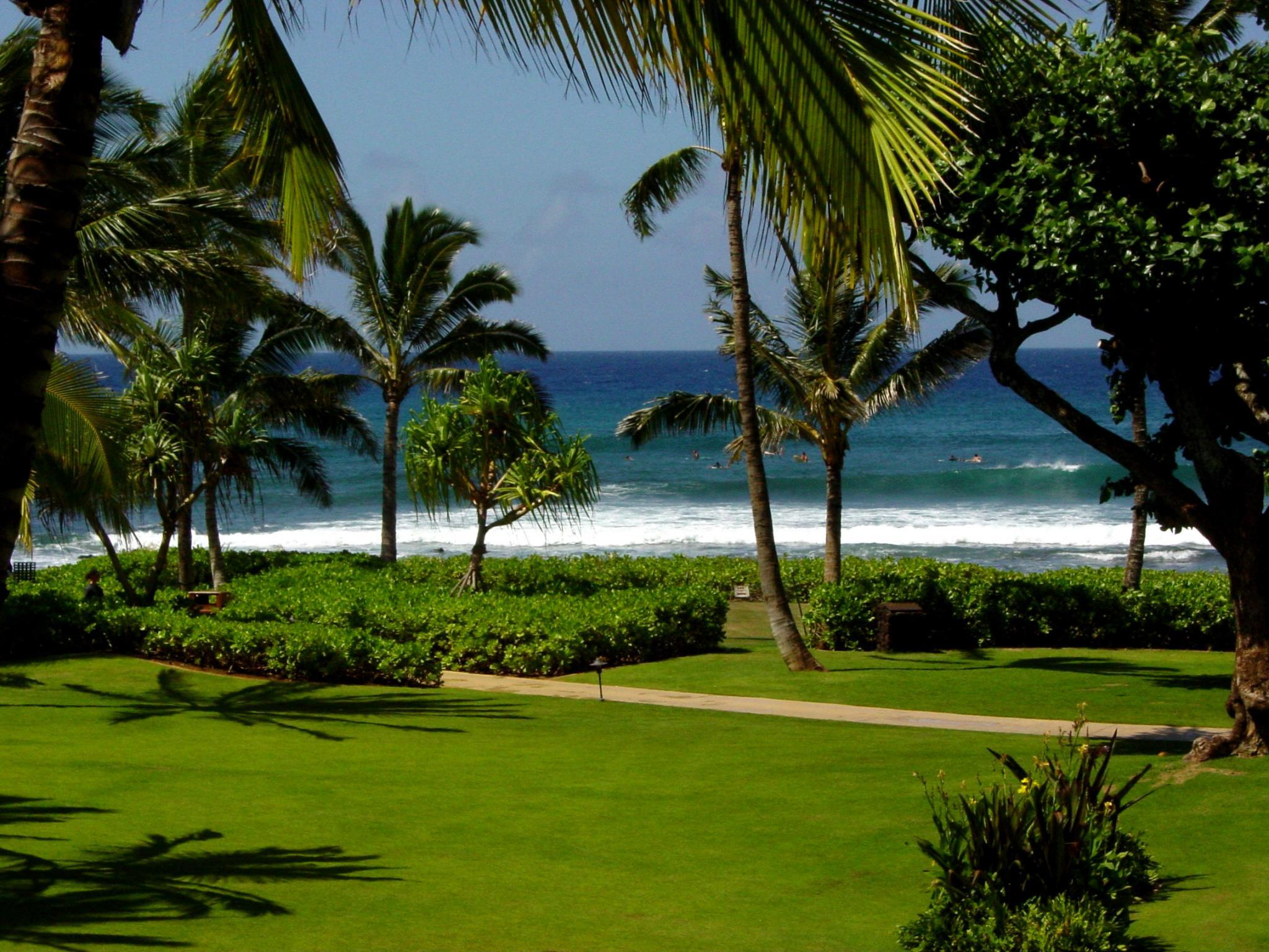 Marriott's Waiohai Beach Club - Grounds