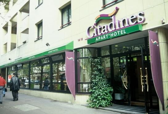 Citadines apart hotel paris bastille nation photo for Appart hotel citadines