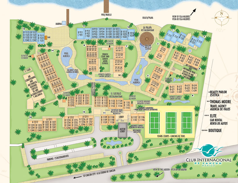 Images and Places, Pictures and Info: cancun resorts map