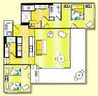 The Point at Poipu - Unit Floor Plan